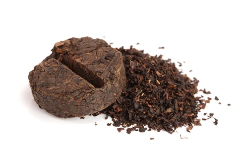 Pu'er Fermented Tea Leaves