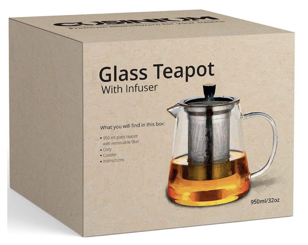 Cuisinium Best Glass Teapot
