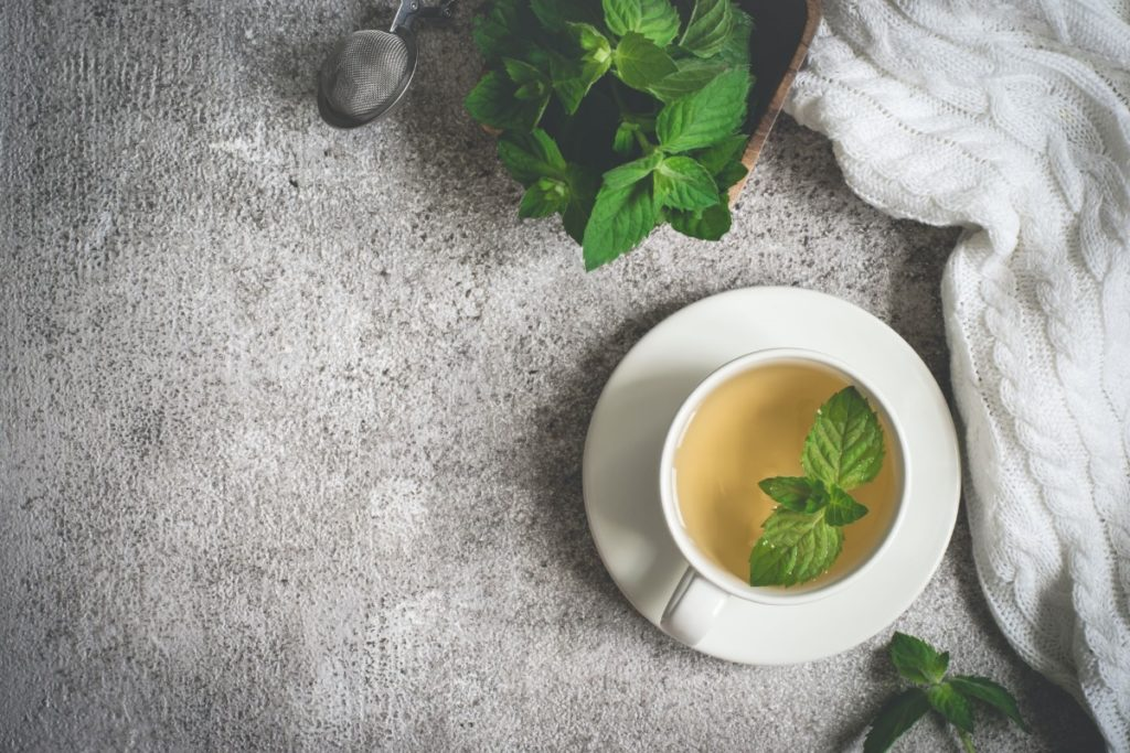Peppermint Tea for Cramps