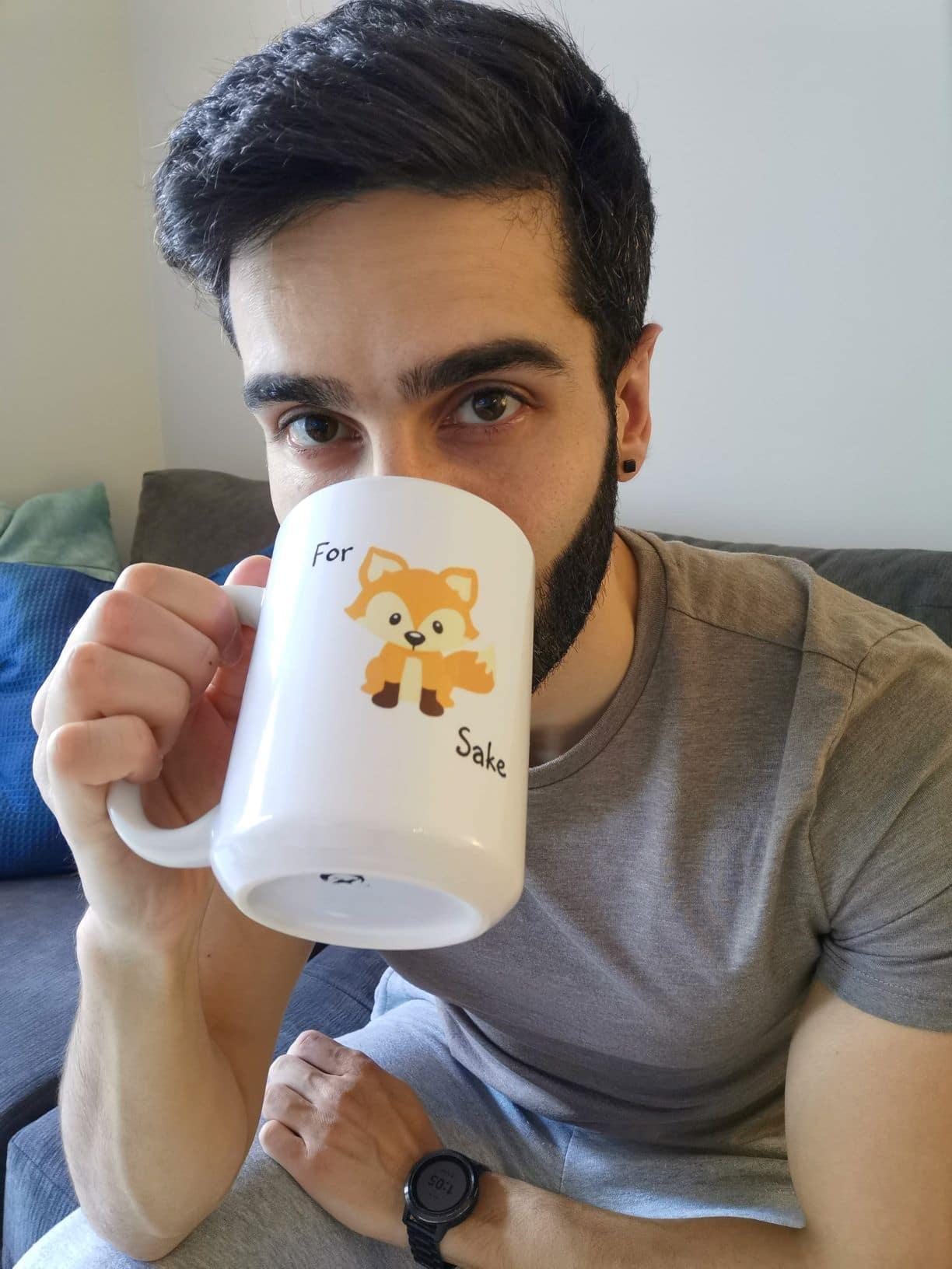 Nick a coffee and tea fanatic