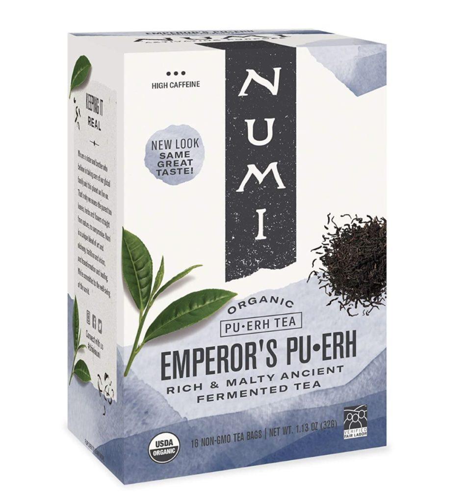 Pu'er - High Caffeine Tea