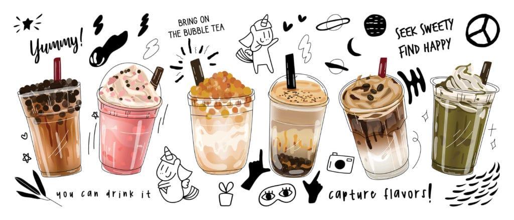 Boba Tea Flavors