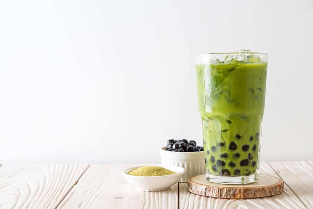Boba Tea Flavors - Matcha