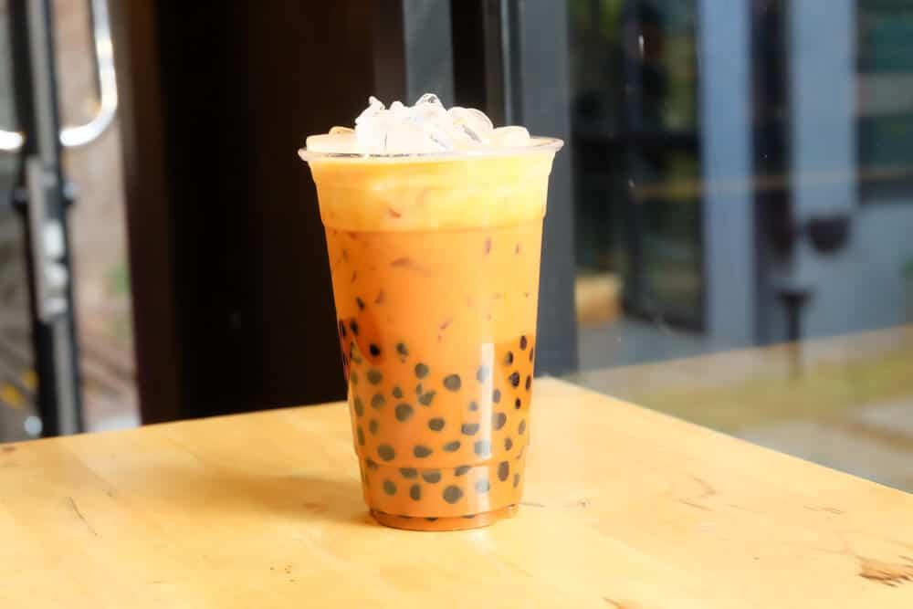 Boba Tea Flavors - Thai Iced Tea