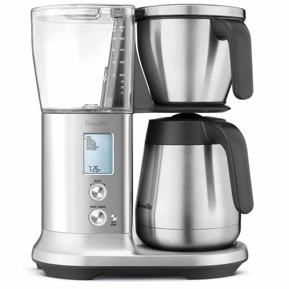 Breville Precision Brewer - Best Temperature for Brewing Coffee