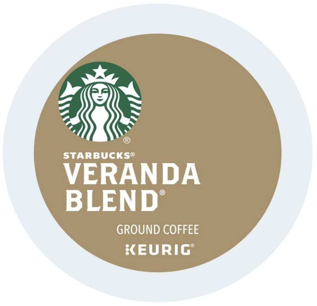 Starbucks Veranda Blend - Best K Cup Coffee