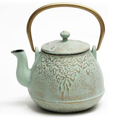 Best Cast Iron Teapots - Cast Iron Teapot with Infuser