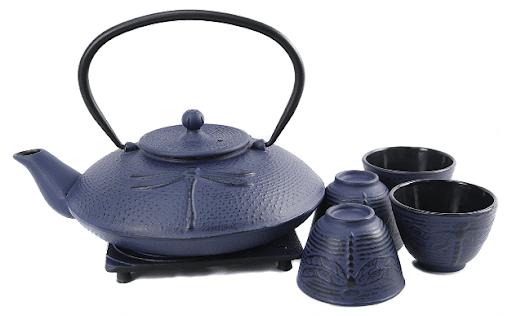 Best Cast Iron Teapots - Cuisiland Dragonfly Cast Iron Teapot