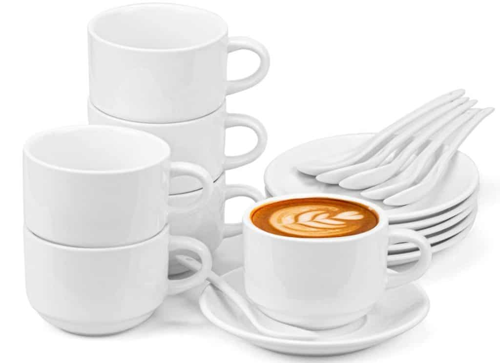 Best Espresso Cups - Hedume 6 Pack Espresso Cups