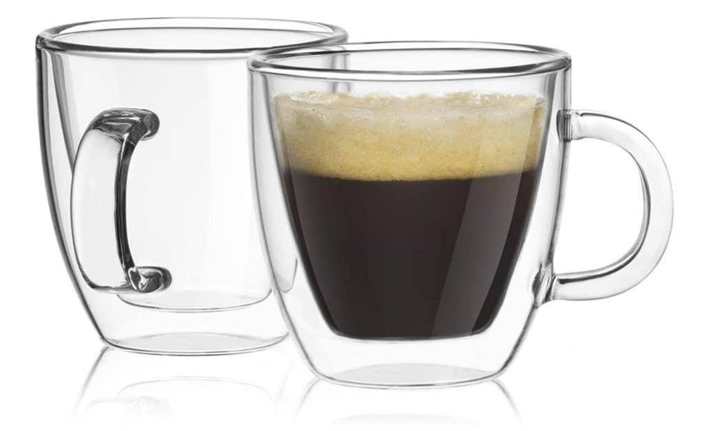 Best Espresso Cups - JoyJolt Savor Double Wall