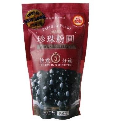 Jasmine Milk Tea - Tapioca Pearls