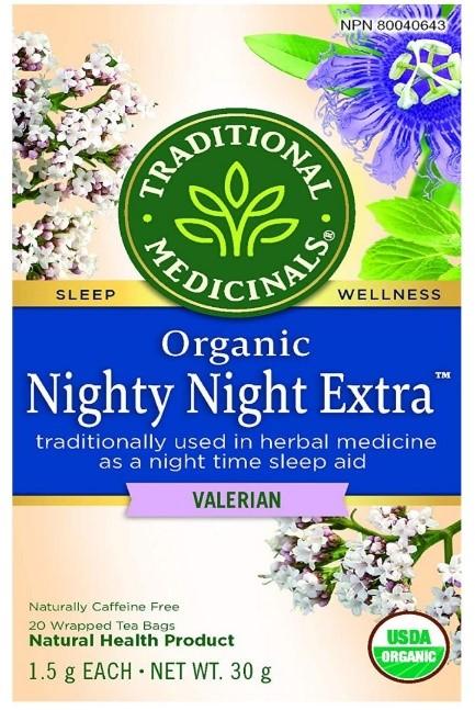 Best Calming Teas - Nignty Night Valerian