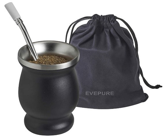 The Different Types of Tea - evepure yerba mate cup