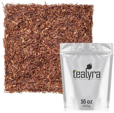 The Different Types of Tea - pure rooibos red herbal tea