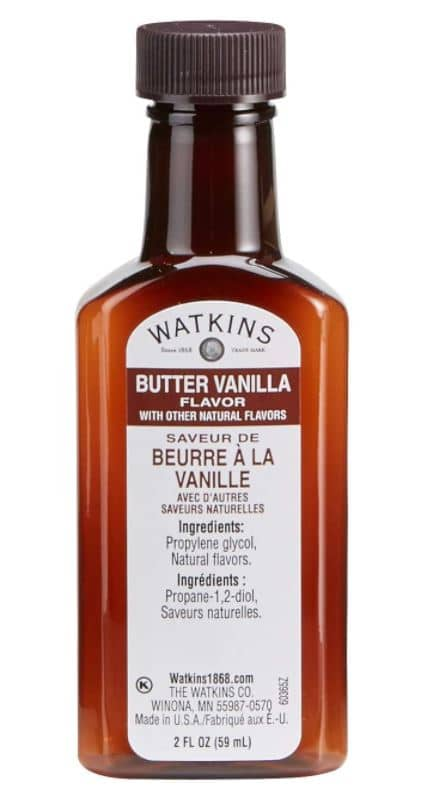 Types of Coffee - Watkins Butter Vanilla