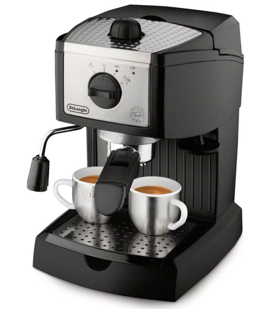 Types of Coffee - Delonghi EC155