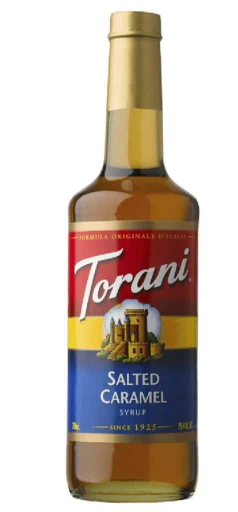 Types of Coffee - Torani Salted Caramel