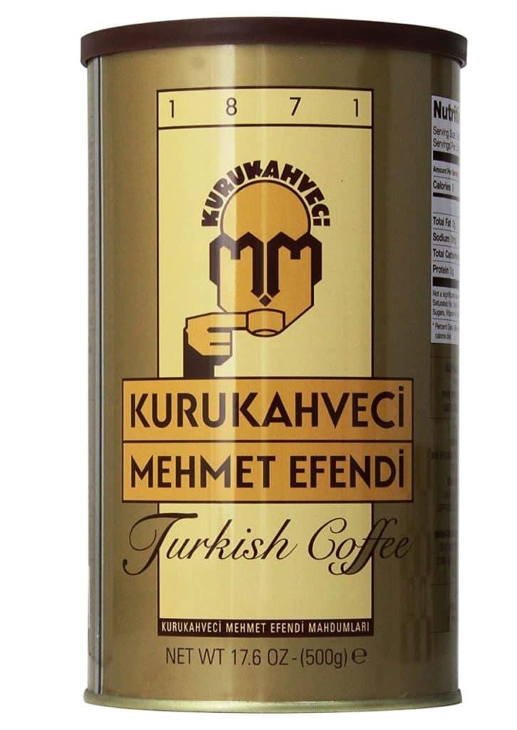 Types of Coffee - Turkish Ground Coffee