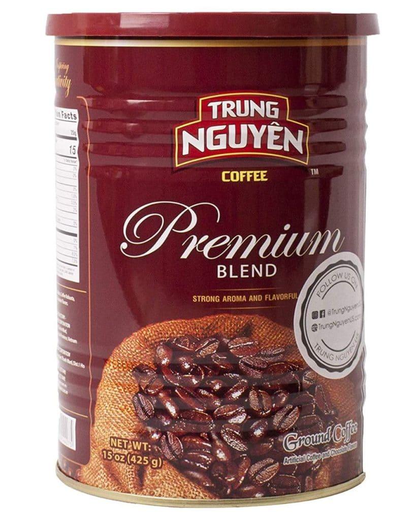 Types of Coffee - Vietnamese Ground Coffee