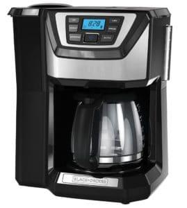 Coffee Maker with Grinder - Black+Decker 12-Cup