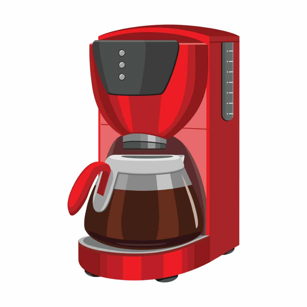 Coffee Maker with Grinder - End