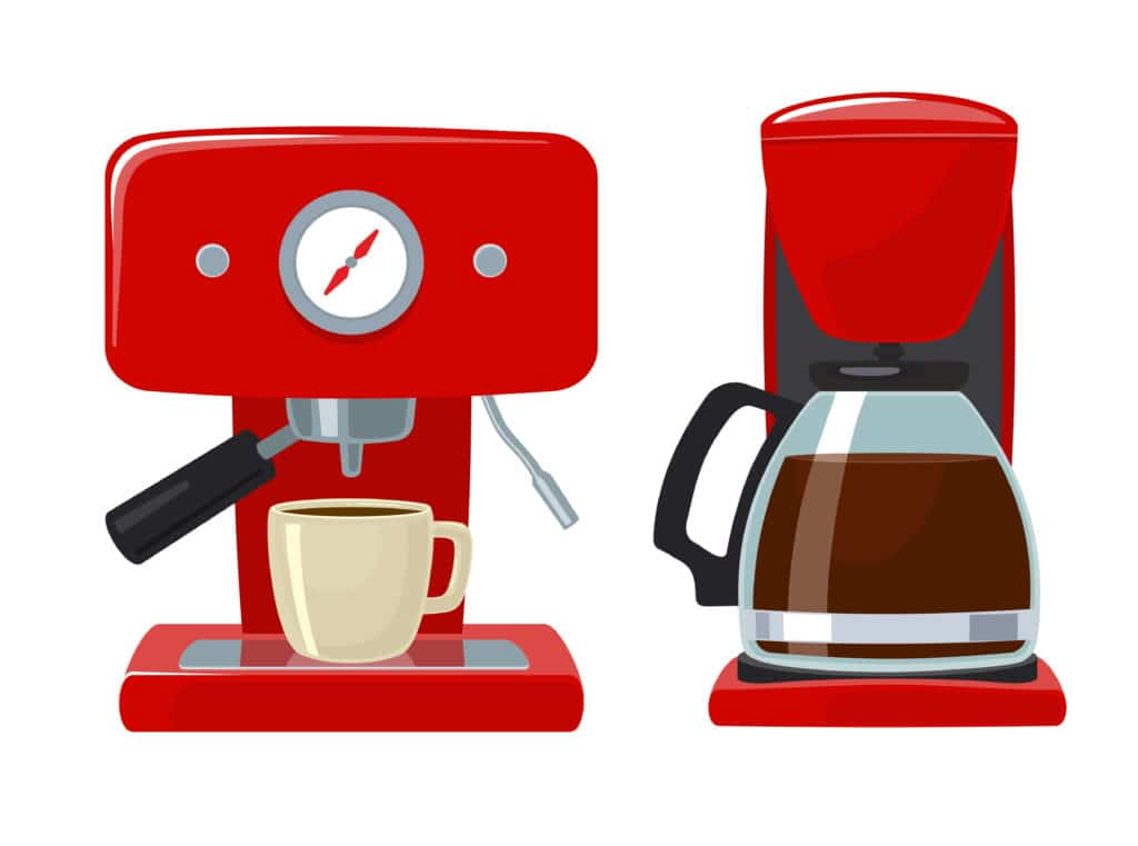 Coffee Maker with Grinder - Feature