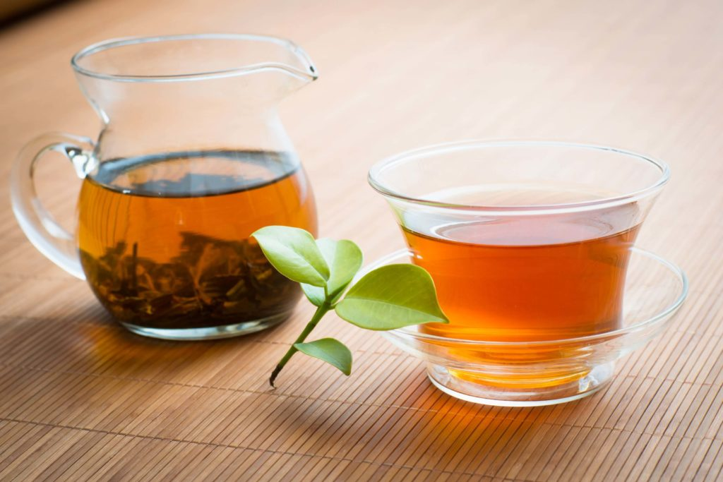 Hojicha Tea - End