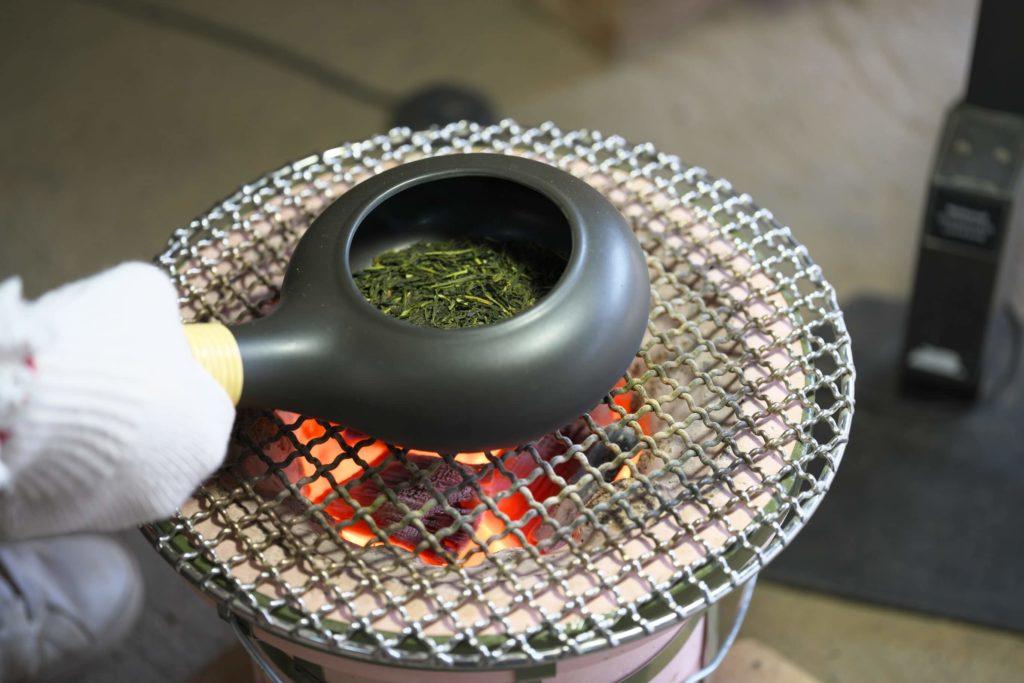 Hojicha Tea - Roasting