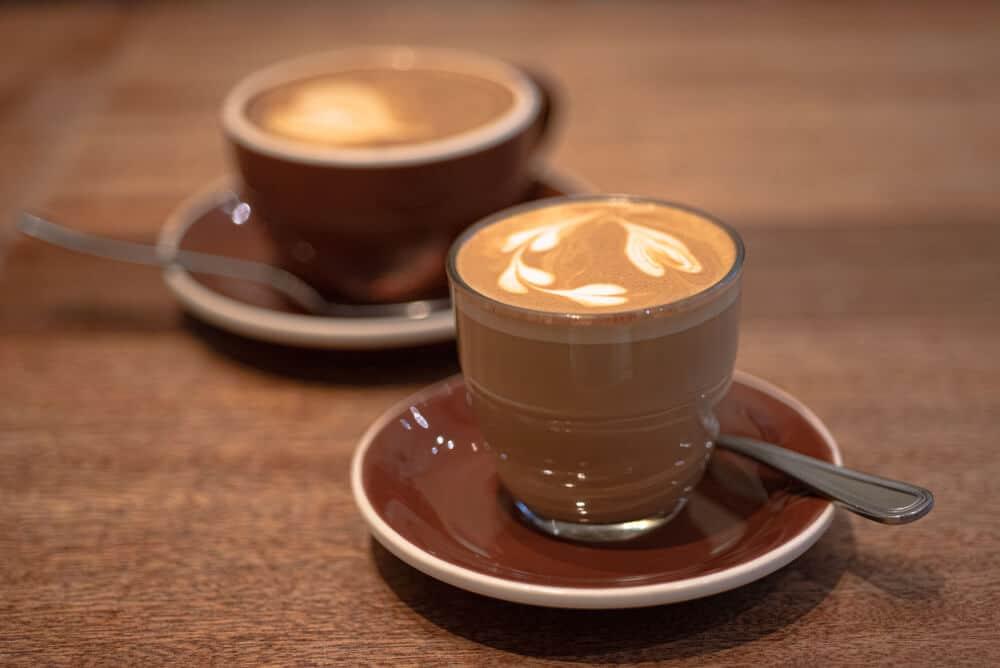 Cortado Coffee - End